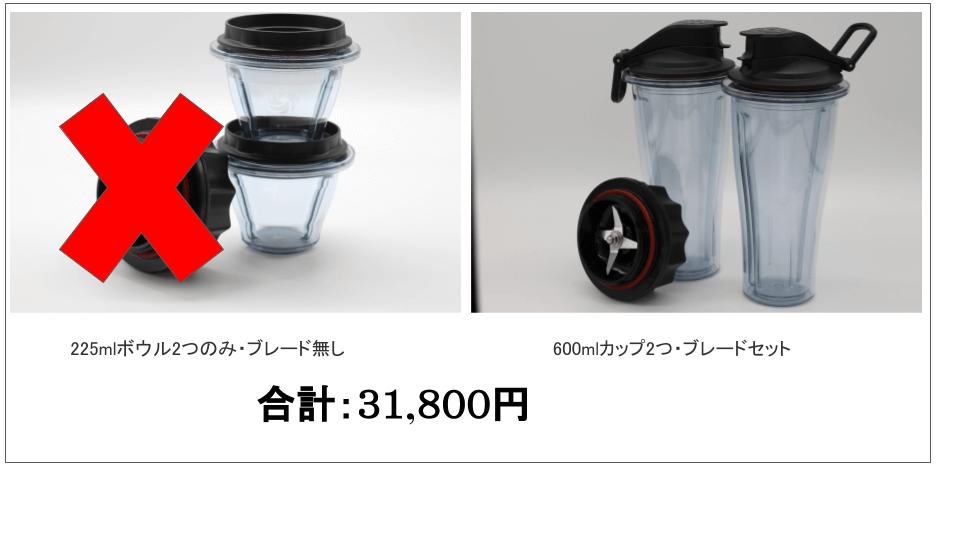 バイタミックスA3500カップボウル